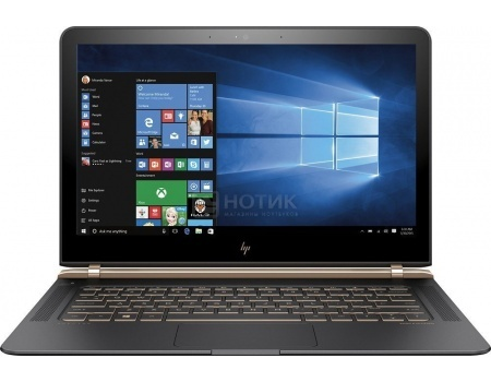 Фотография товара ультрабук HP Spectre 13-v006ur (13.3 TN (LED)/ Core i5 6200U 2300MHz/ 8192Mb/ SSD / Intel HD Graphics 520 64Mb) MS Windows 10 Home (64-bit) [X5B66EA] (46346)