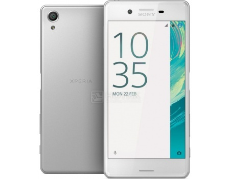 Защищенные смартфоны Sony Xperia X Perfomance White (Android 6.0 (Marshmallow)/MSM8996 2150MHz/5.0
