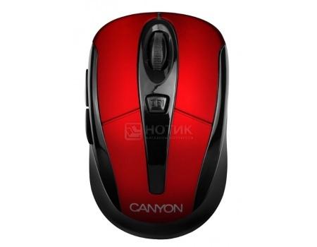 Фотография товара мышь беспроводная Canyon CNR-MSOW06R, 1600dpi, Красный JUCNRMSOW06R (46371)