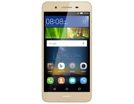 "Смартфон Huawei Ascend GR3 Gold (Android 5.1/MT6753T 1500MHz/5.0"" (1280x720)/2048Mb/16Gb/4G LTE 3G (EDGE, HSDPA, HSPA+)) [TAG-L21 GOLD] от Нотик"