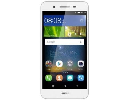 Смартфон Huawei Ascend GR3 Silver (Android 5.1/MT6753T 1500MHz/5.0 (1280x720)/2048Mb/16Gb/4G LTE 3G (EDGE, HSDPA, HSPA+)) [TAG-L21 SILVER]Huawei<br>5.0 MediaTek 1500 МГц 2048 Мб Flash drive 16 Гб Android 5.1 бат. - до 7.5 ч Серебристый<br>