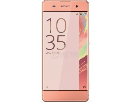 Смартфон Sony Xperia XA Rose Gold (Android 6.0 (Marshmallow)/MT6755 2000MHz/5.0
