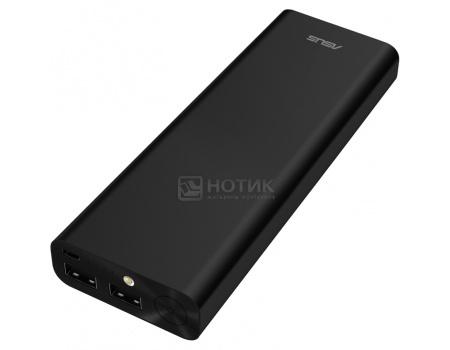 Аккумулятор Asus ZenPower Ultra 20100 мАч, microUSB 5.1V/2.4А, 2xUSB, 12.1V/2.4А, Черный 90AC00M0-BBT019