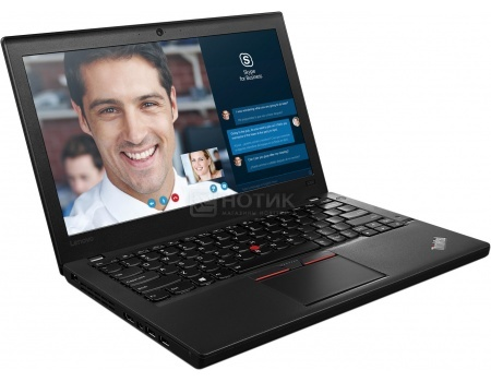 Ноутбук Lenovo ThinkPad X260 (12.5 IPS (LED)/ Core i5 6200U 2300MHz/ 8192Mb/ SSD 256Gb/ Intel HD Graphics 520 64Mb) MS Windows 7 Professional (64-bit) [20F6S02800]