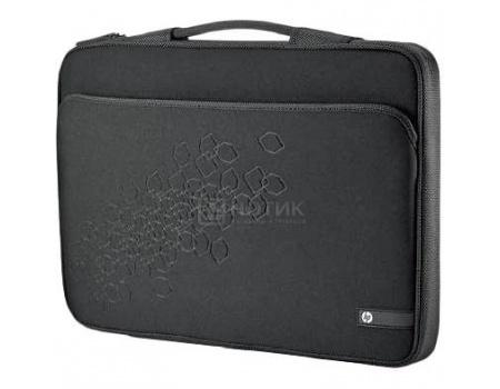 "Сумка 17.3"" HP Black Cherry Notebook Sleeve, LR378AA, Неопрен, Черный"