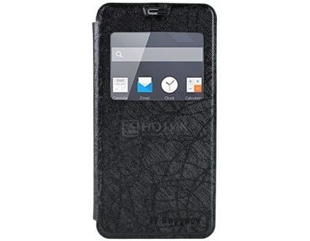 Чехол-подставка IT Baggage для смартфона Meizu Pro 6, Искусственная кожа, Черный ITMZPR6-1
