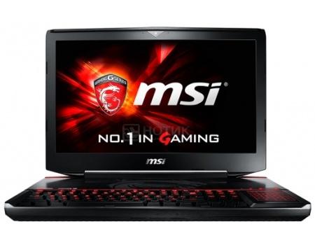 Ноутбук MSI GT80S 6QD-297RU Titan SLI (18.4 LED (с широкими углами обзора IPS - level)/ Core i7 6820HK 2700MHz/ 16384Mb/ HDD+SSD 1000Gb/ NVIDIA GeForce GTX 970Mx2 SLI 6144Mb) MS Windows 10 Home (64-bit) [9S7-181412-297]