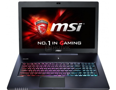 Ноутбук MSI GS72 6QE-436RU Stealth Pro (17.3 LED (с широкими углами обзора IPS - level)/ Core i7 6700HQ 2600MHz/ 16384Mb/ HDD+SSD 1000Gb/ NVIDIA GeForce® GTX 970M 3072Mb) MS Windows 10 Home (64-bit) [9S7-177514-436]