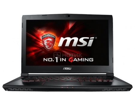 Ноутбук MSI GS40 6QE-233RU Phantom (14.0 LED (с широкими углами обзора IPS - level)/ Core i7 6700HQ 2600MHz/ 16384Mb/ HDD+SSD 1000Gb/ NVIDIA GeForce® GTX 970M 3072Mb) MS Windows 10 Home (64-bit) [9S7-14A112-233]