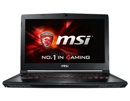 Ноутбук MSI GS40 6QE-234RU Phantom (14.0 LED (с широкими углами обзора IPS - level)/ Core i7 6700HQ 2600MHz/ 8192Mb/ HDD 1000Gb/ NVIDIA GeForce® GTX 970M 3072Mb) MS Windows 10 Home (64-bit) [9S7-14A112-234]