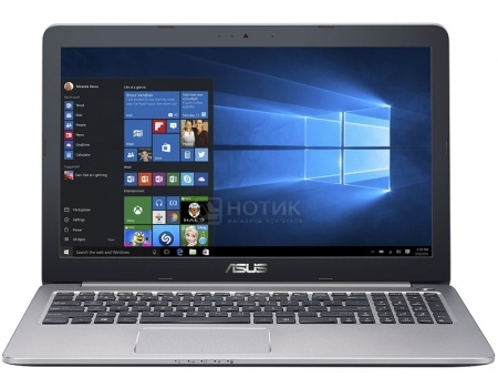 Ноутбук ASUS K501UX-DM282T (15.6 LED/ Core i7 6500U 2500MHz/ 8192Mb/ HDD 1000Gb/ NVIDIA GeForce® GTX 950M 2048Mb) MS Windows 10 Home (64-bit) [90NB0A62-M03370]