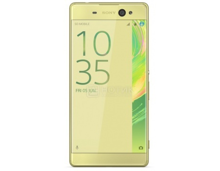 "Смартфон Sony Xperia XA Ultra Lime Gold (Android 6.0 (Marshmallow)/MT6755 2000MHz/6.0"" 1920x1080/3072Mb/16Gb/4G LTE  ) [F3211Lime_Gold] от Нотик"