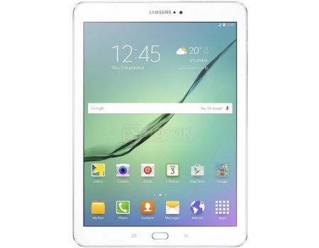"Фотография товара планшет Samsung Galaxy TAB S2 9.7 SM-T813 32Gb White (Android 6.0 (Marshmallow)/MSM8976 1800MHz/9.7"" 2048x1536/3072Mb/32Gb/ ) [SM-T813NZWESER] (46700)"