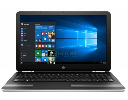Ноутбук HP Pavilion 15-au032ur (15.6 LED/ Core i7 6500U 2500MHz/ 8192Mb/ HDD+SSD 1000Gb/ NVIDIA GeForce GT 940MX 4096Mb) MS Windows 10 Home (64-bit) [X7H78EA]