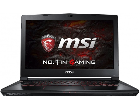Ноутбук MSI GS43VR 6RE-007RU Phantom Pro (14.0 LED (с широкими углами обзора IPS - level)/ Core i7 6700HQ 2600MHz/ 16384Mb/ HDD+SSD 1000Gb/ NVIDIA GeForce® GTX 1060 6144Mb) MS Windows 10 Home (64-bit) [9S7-14A312-007]