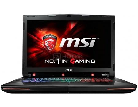 Ноутбук MSI GT72VR 6RE-028RU Dominator Pro Tobii (17.3 LED (с широкими углами обзора IPS - level)/ Core i7 6700HQ 2600MHz/ 32768Mb/ HDD+SSD 1000Gb/ NVIDIA GeForce GTX 1070 8192Mb) MS Windows 10 Home (64-bit) [9S7-178533-028]