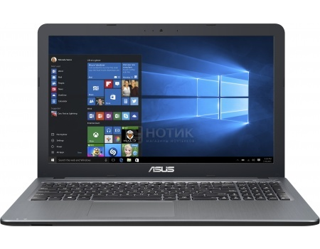 Ноутбук Asus X540SA (15.6 LED/ Pentium Quad Core N3700 1600MHz/ 4096Mb/ HDD 500Gb/ Intel Intel HD Graphics 62Mb) MS Windows 10 Home (64-bit) [90NB0B33-M11810]