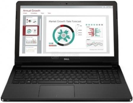 Ноутбук Dell Vostro 3558 (15.6 LED/ Core i3 5005U 2000MHz/ 4096Mb/ HDD 500Gb/ Intel HD Graphics 5500 64Mb) MS Windows 7 Professional (64-bit) [3558-2273]
