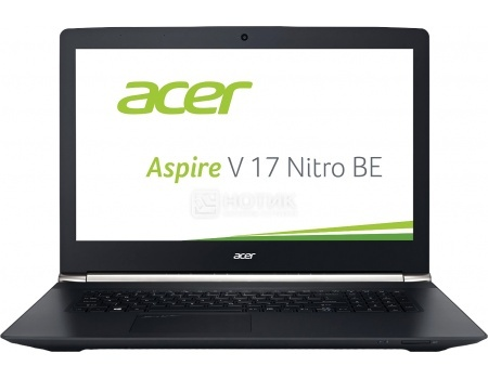 Ноутбук Acer Aspire Nitro V17 VN7-792G-74RW (17.3 LED/ Core i7 6700HQ 2600MHz/ 16384Mb/ HDD+SSD 1000Gb/ NVIDIA GeForce® GTX 960M 4096Mb) MS Windows 10 Home (64-bit) [NH.G6TER.001]
