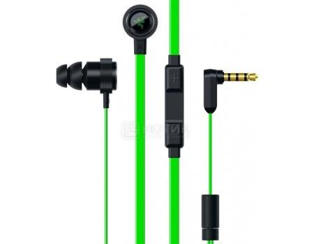 Гарнитура Razer Hammerhead Pro V2, Черный/Зеленый RZ04-01730100-R3G1