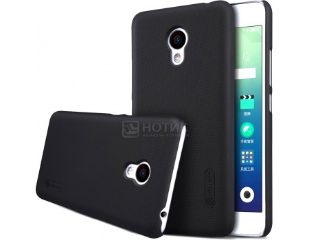 Чехол-накладка Nillkin Back Cover для Meizu M3s Mini, Пластик, Black, Черный, NLK-874004Y0480