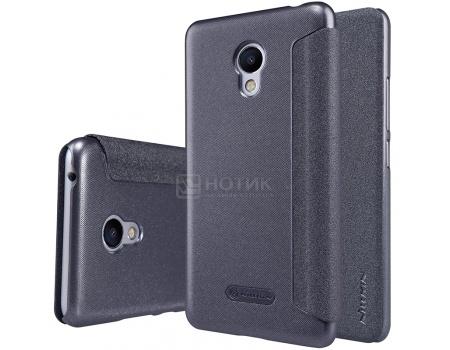 Чехол-книжка Nillkin Flip Cover для Meizu M3s Mini, Пластик/искусственная кожа, Black, Черный, 874004Y0484