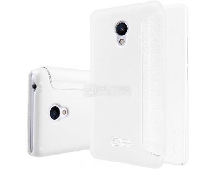 Чехол-книжка Nillkin Flip Cover для Meizu M3s Mini, Пластик/искусственная кожа, White, Белый, 874004Y0485