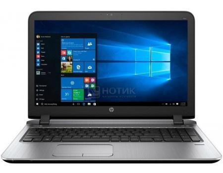Ноутбук HP Probook 450 G3 (15.6 LED/ Core i5 6200U 2300MHz/ 4096Mb/ HDD 500Gb/ Intel HD Graphics 520 64Mb) MS Windows 7 Professional (64-bit) [W4P32EA]