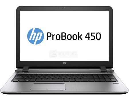 Ноутбук HP Probook 450 G3 (15.6 LED/ Core i5 6200U 2300MHz/ 4096Mb/ SSD 128Gb/ Intel HD Graphics 520 64Mb) MS Windows 7 Professional (64-bit) [W4P30EA]