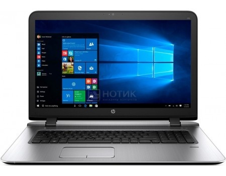 Ноутбук HP Probook 470 G3 (17.3 LED/ Core i3 6100U 2300MHz/ 4096Mb/ HDD 500Gb/ AMD Radeon R7 M340 1024Mb) MS Windows 7 Professional (64-bit) [W4P75EA]