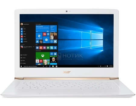 Ультрабук Acer Aspire S5-371-70FD (13.3 IPS (LED)/ Core i7 6500U 2500MHz/ 8192Mb/ SSD 256Gb/ Intel HD Graphics 520 64Mb) MS Windows 10 Home (64-bit) [NX.GCJER.004]