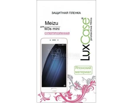 Защитная пленка LuxCase для Meizu M3s mini Суперпрозрачная 54833LuxCase<br>Защитная пленка LuxCase для Meizu M3s mini Суперпрозрачная 54833<br>