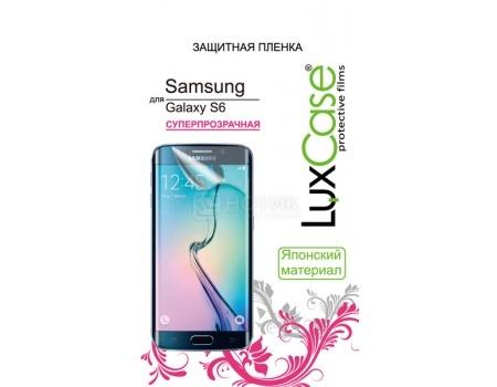 Защитная пленка LuxCase для Samsung Galaxy S6 Суперпрозрачная 81402 аксессуар защитная пленка irbis tz701 luxcase суперпрозрачная 53041