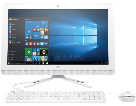 Моноблок HP 22-b007ur (21.5 IPS (LED)/ Pentium Quad Core J3710 1600MHz/ 8192Mb/ Hybrid Drive 1000Gb/ Intel HD Graphics 405 64Mb) MS Windows 10 Home (64-bit) [X0Z33EA]