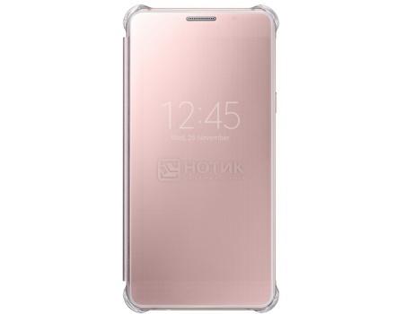 Чехол-книжка Samsung Clear View Cover для Samsung Galaxy A510, Поликарбонат, Pink, Розовый, EF-ZA510CZEGRU