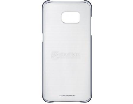 все цены на  Чехол-накладка Samsung Clear Cover для Samsung Galaxy S7 Edge, Поликарбонат, Silver, Серебристый EF-QG935CSEGRU  онлайн