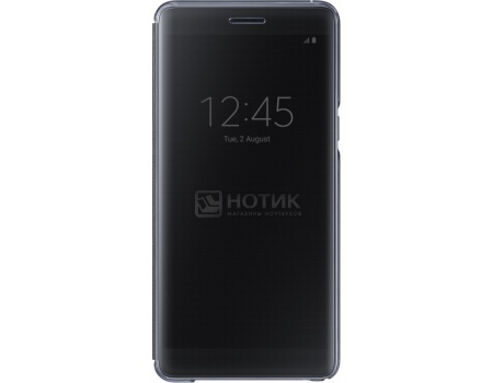 Чехол-книжка Samsung Clear View Cover для Samsung Galaxy Note 7, Поликарбонат, Black, Черный, EF-ZN930CBEGRU