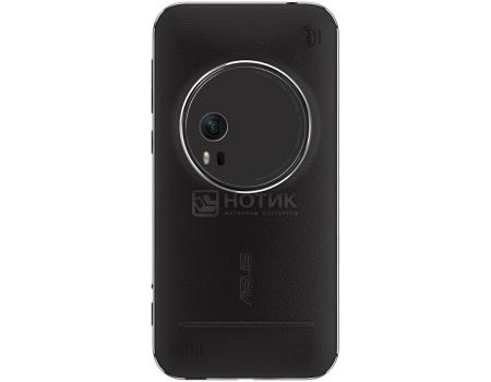Чехол Asus ZenFone 2 Zoom Zen Case для ZX551ML, Кожа, Black, Черный  90AC0100-BBC001