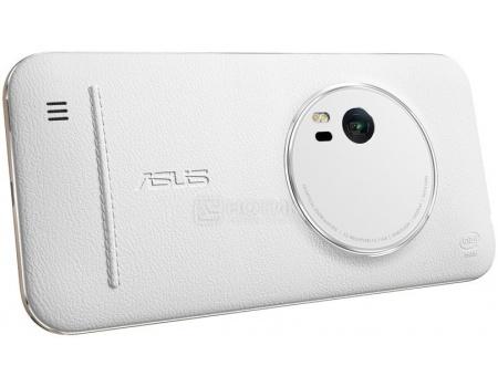 Чехол Asus ZenFone 2 Zoom Zen Case для ZX551ML, Кожа, Белый, White 90AC0100-BBC009, арт: 47309 - ASUS