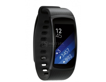 Смарт-часы Samsung Gear Fit 2 SM-R360, Серый SM-R3600DAASER