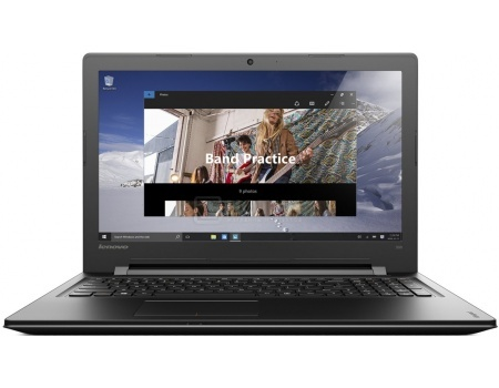 Ноутбук Lenovo IdeaPad 300-17 (17.3 LED/ Pentium Dual Core 4405U 2100MHz/ 4096Mb/ HDD 1000Gb/ AMD Radeon R5 M330 2048Mb) MS Windows 10 Home (64-bit) [80QH009QRK]