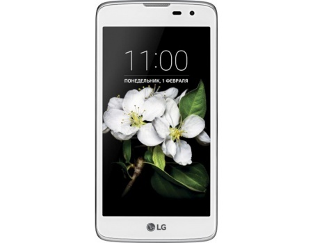 Смартфон LG K7 X210DS White (Android 5.1/MТ6580 1300MHz/5.0 (1280x720)/1024Mb/8Gb/4G LTE ) [LGX210DS.ACISWH]