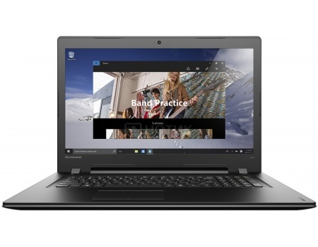 Ноутбук Lenovo IdeaPad 300-17 (17.3 LED/ Pentium Dual Core 4405U 2100MHz/ 4096Mb/ HDD 1000Gb/ AMD Radeon R5 M330 2048Mb) MS Windows 10 Home (64-bit) [80QH009RRK]