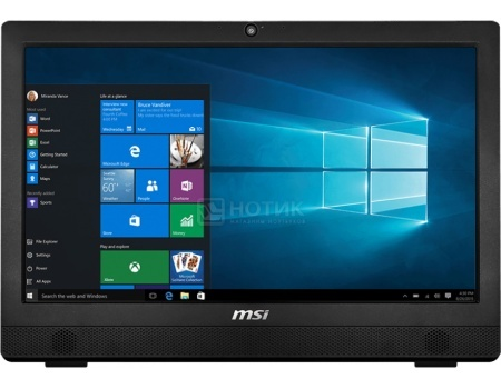 Моноблок MSI Pro 24 6M-013RU (23.6 TN (LED)/ Core i3 6100 3700MHz/ 4096Mb/ HDD 1000Gb/ Intel HD Graphics 530 64Mb) MS Windows 10 Home (64-bit) [9S6-AE9311-013]