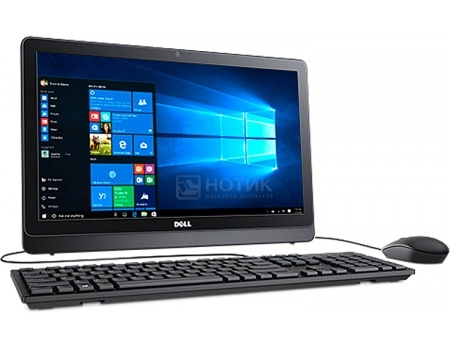 Моноблок Dell Inspiron 3263 (21.5 LED/ Pentium Dual Core 4405U 2100MHz/ 4096Mb/ HDD 500Gb/ Intel HD Graphics 510 64Mb) Linux OS [3263-8292]
