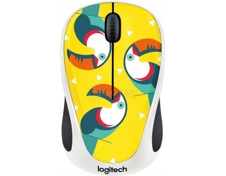 Мышь беспроводная Logitech M238 Toucan, 1000dpi, Разноцветный 910-004714