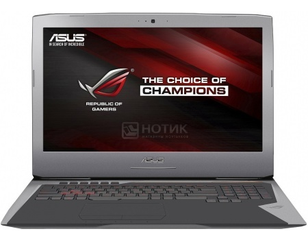 Ноутбук Asus G752VY (17.3 IPS (LED)/ Core i7 6820HK 2700MHz/ 32768Mb/ HDD+SSD 2000Gb/ NVIDIA GeForce GTX 980M 8192Mb) MS Windows 10 Home (64-bit) [90NB09V1-M06520]
