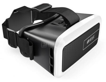 Очки виртуальной реальности для смартфонов HIPER VR VRM, Черный/Белый