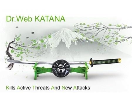 Электронная лицензия Dr.Web Katana, Продление на 12 мес на 4 ПК