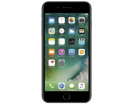 "Фотография товара смартфон Apple iPhone 7 Plus 128Gb Black (iOS 10/A10 Fusion 2340MHz/5.5"" 1920x1080/3072Mb/128Gb/4G LTE ) [MN4M2RU/A] (47611)"